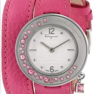 Ferragamo Women's Gancino Swiss Watch NWT